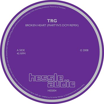 Cover art - TRG: Broken Heart (Martyn's DCM Remix)
