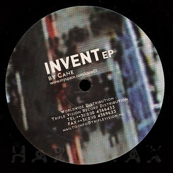 Cover art - Cane: Invent EP