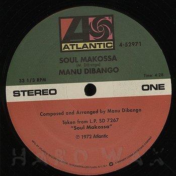 Cover art - Manu Dibango: Soul Makossa