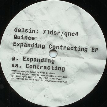 Cover art - Quince: Expanding Contracting EP