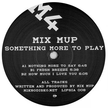 Cover art - Mix Mup: Something More To Play