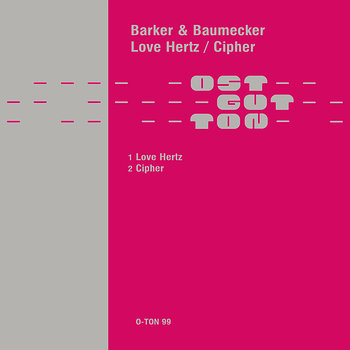Cover art - Barker & Baumecker: Love Hertz