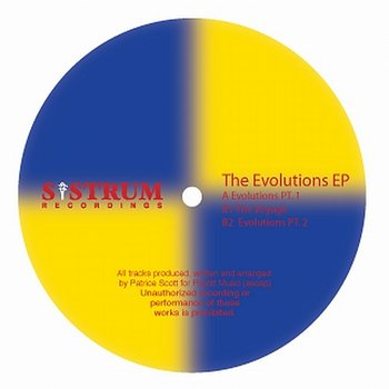 Cover art - Patrice Scott: The Evolutions EP