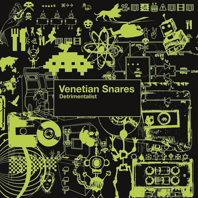 Cover art - Venetian Snares: Detrimentalist