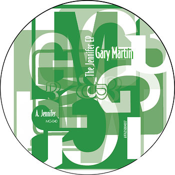 Cover art - Gary Martin: The Jennifer EP