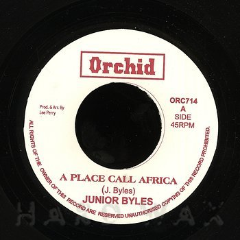 Cover art - Junior Byles: A Place Called Africa