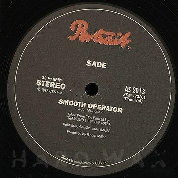 Cover art - Sade: Smooth Operator