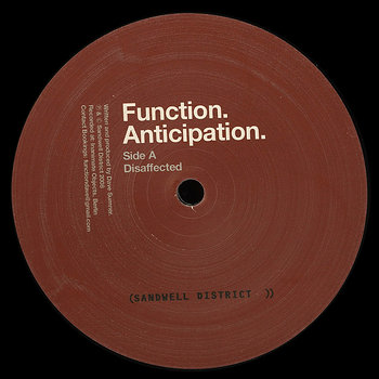 Cover art - Function: Anticipation