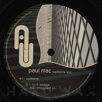 Cover art - Paul Mac: Options EP