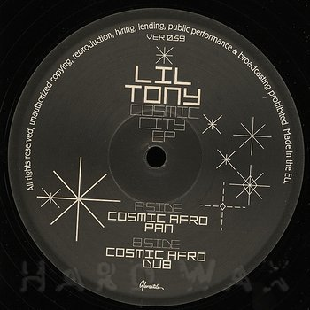 Cover art - Lil' Tony: Cosmic City EP