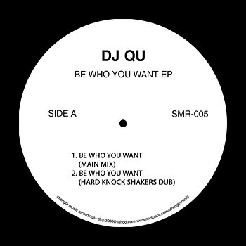 Cover art - DJ Qu: Be Who You Want