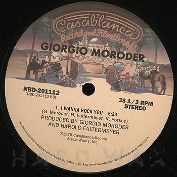 Cover art - Giorgio Moroder: Evolution