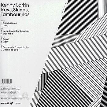 Cover art - Kenny Larkin: Keys, Strings, Tambourines