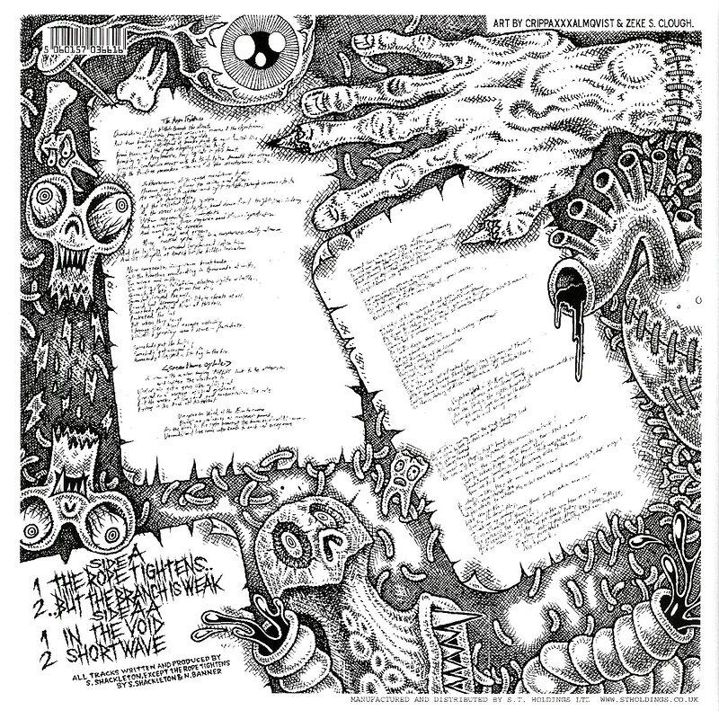Cover art - Shackleton: Soundboy's Suicide Note