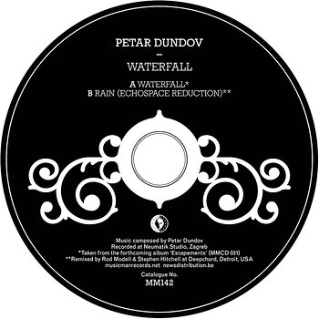 Cover art - Petar Dundov: Waterfall