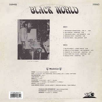 Cover art - Bullwackies All Stars: Black World Dub