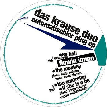 Cover art - Das Krause Duo: Automatischler Ping EP