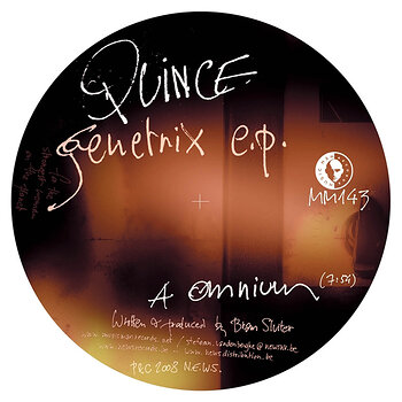 Cover art - Quince: Genetrix EP