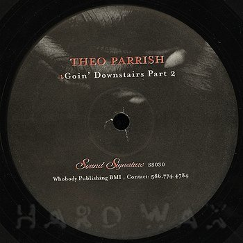 Cover art - Theo Parrish: Goin' Downstairs