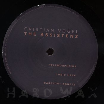 Cover art - Cristian Vogel: The Assistenz
