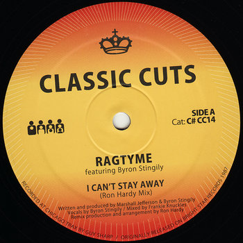 Cover art - Ragtyme: I Can't Stay Away