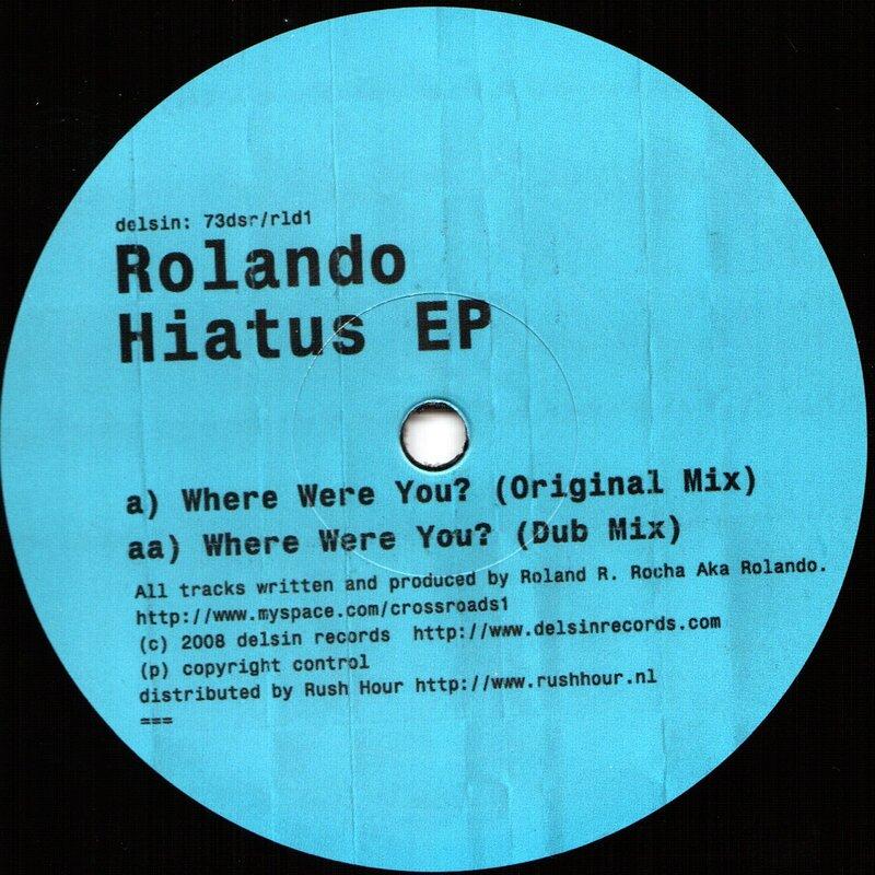 Cover art - Rolando: Haitus EP
