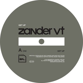 Cover art - Zander VT: Get Up