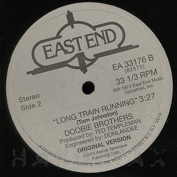 Cover art - Doobie Brothers: Long Train Running