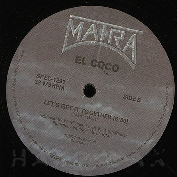 Cover art - El Coco: Cocomotion