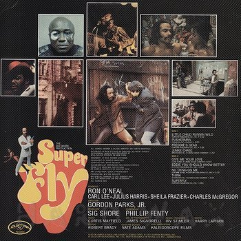 Cover art - Curtis Mayfield: Super Fly