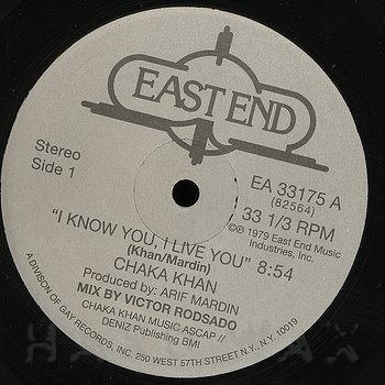 Cover art - Chaka Khan: I Know You, I Live You