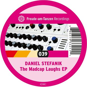 Cover art - Daniel Stefanik: The Madcap Laughs EP