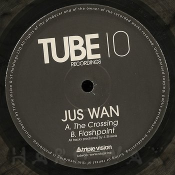 Cover art - Jus Wan: The Crossing