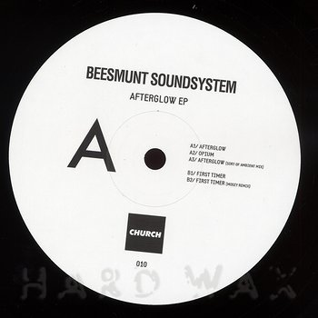 Cover art - Beesmunt Soundsystem: Afterglow EP