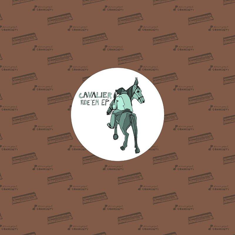 Cover art - Cavalier: Ride 'Em EP