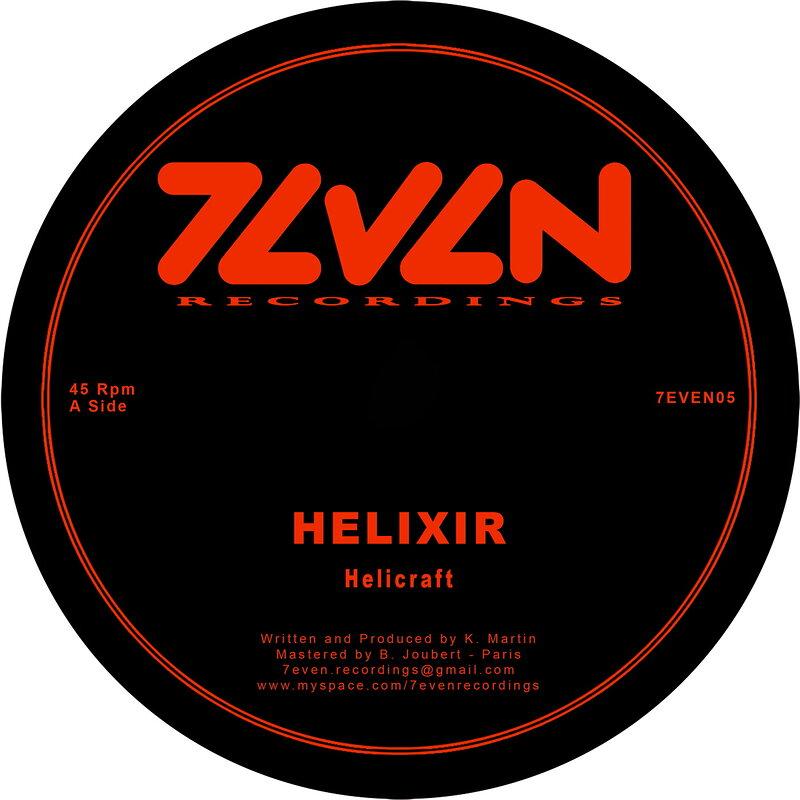 Cover art - Helixir: Helicraft