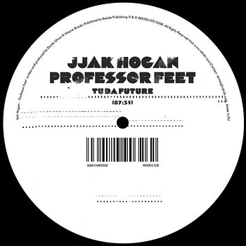Cover art - Jjak Hogan: Professor Feet