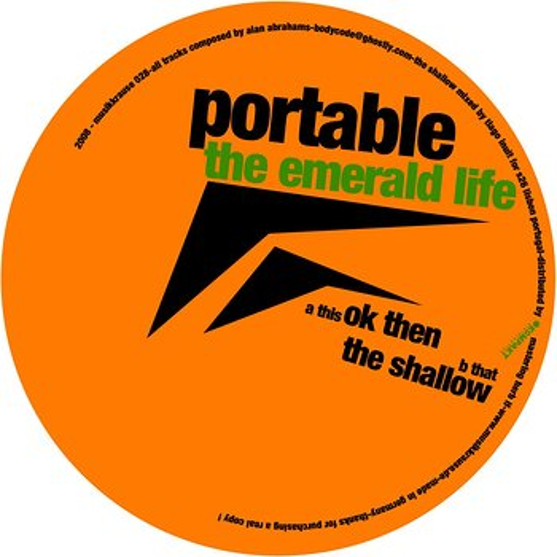 Cover art - Portable: The Emerald Life
