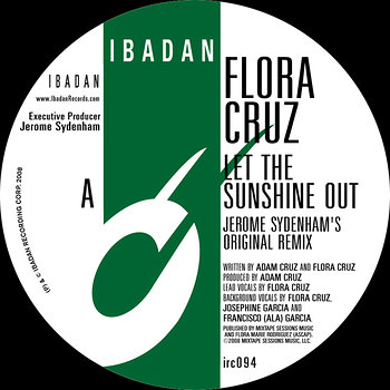 Cover art - Flora Cruz: Let The Sunshine Out Remixes