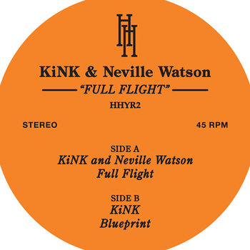 Cover art - Kink & Neville Watson: Full Flight