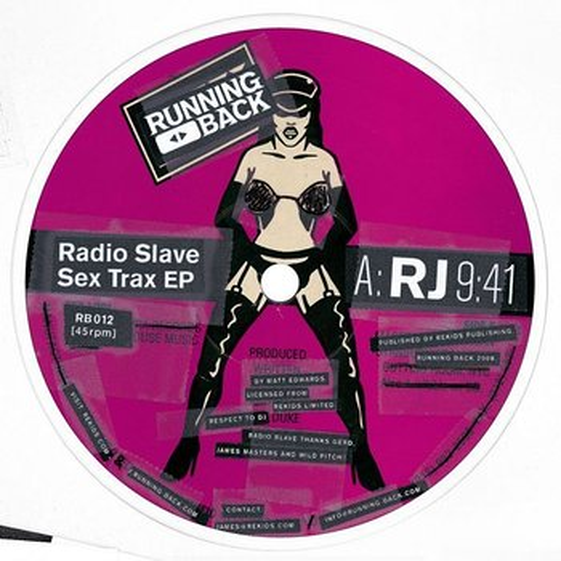 Cover art - Radio Slave: Sex Trax EP