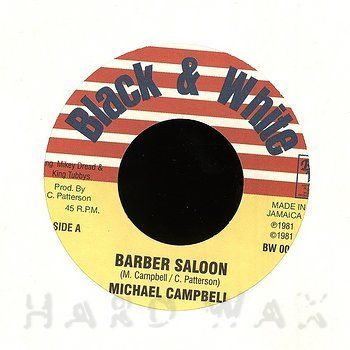 Cover art - Michael Campbell: Barber Saloon
