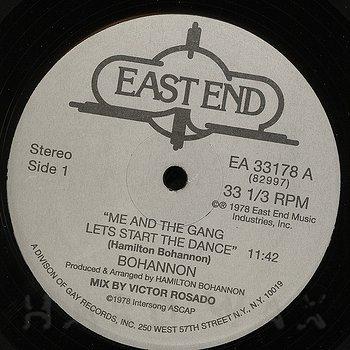 Cover art - Bohannon: Let's Start The Dance