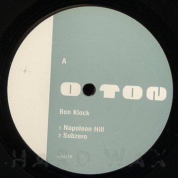Cover art - Ben Klock: Before One