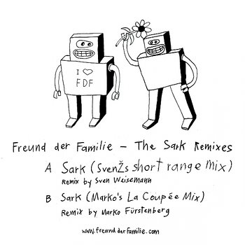 Cover art - Freund der Familie: The Sark Remixes