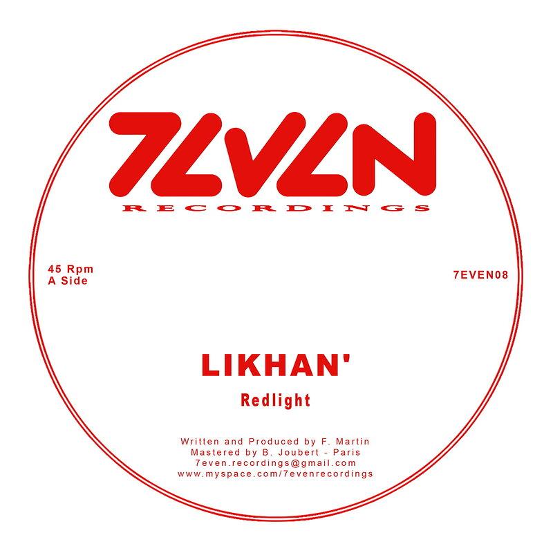 Cover art - Likhan': Redlight
