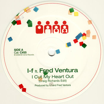 Cover art - I-f feat. Fred Ventura: I Cut My Heart Out