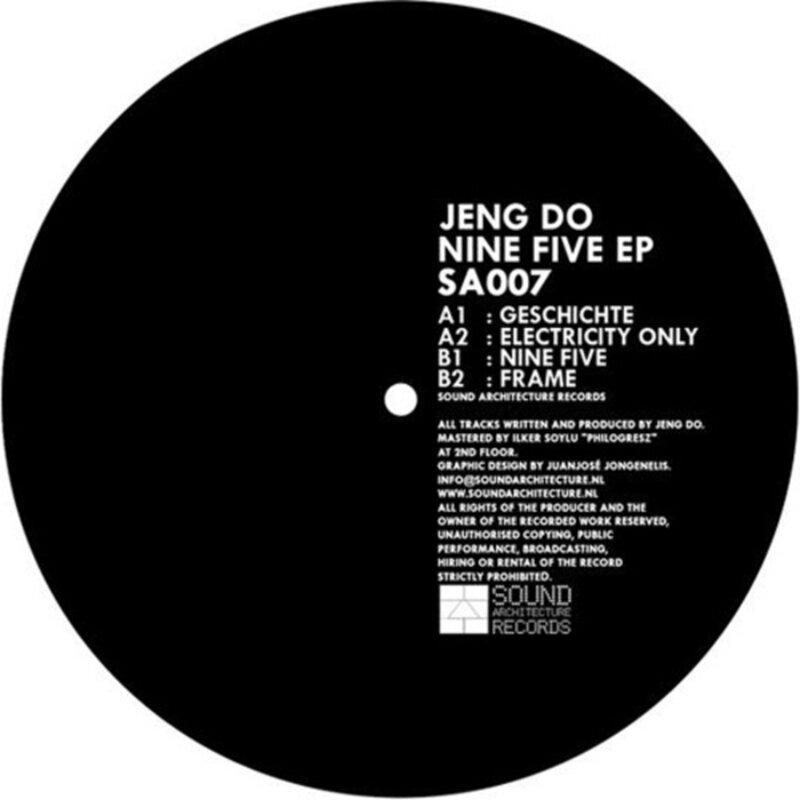 Cover art - Jeng Do: Nine Five EP