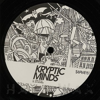 Cover art - Kryptic Minds: One Of Us