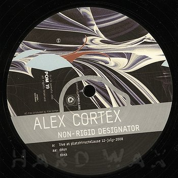Cover art - Alex Cortex: Non Rigid Designator